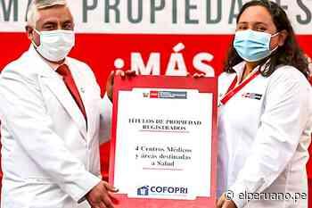 Cofopri entrega en Moquegua 777 títulos de propiedad para vivienda y equipamiento urbano - El Peruano