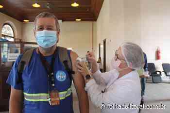 Trabalhadores portuários começam a ser vacinados em Paranaguá e Antonina - Folha do Litoral News