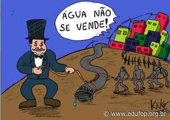 Carta do povo de Ouro Preto: Roubam nosso minério e agora querem nossa água - Adufop