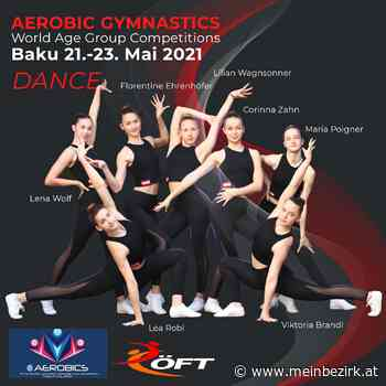 Sportaerobic: Viktoria Brandl und Lea Robl vierte der Juniorenweltmeisterschaft in Aero Dance - Linz - meinbezirk.at