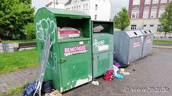 Eilenburg startet Kampagne gegen illegal entsorgten Müll - MDR