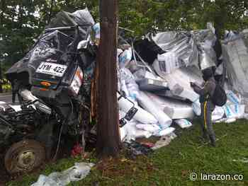 Identifican a víctima fatal y heridos de accidente de furgón en Buenavista - LA RAZÓN.CO