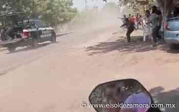 [Video] Apedrean patrullas en Buenavista, reportan bloqueos - El Sol de Zamora