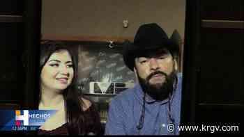 Sergio y Jennifer Degollado del Grupo Control en entrevista para Hechos Valle - KRGV
