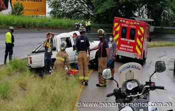 Accidente vial en Loma Campana, Capira, deja cinco personas lesionadas - Panamá América