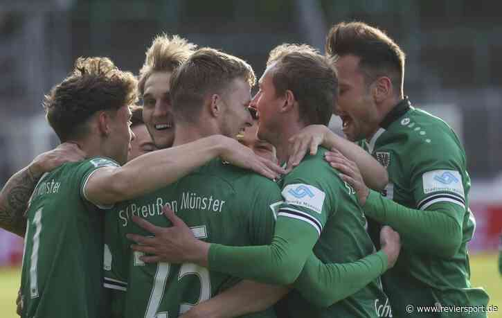 Westfalenpokal: SC Preußen Münster schlägt SF Lotte! - RevierSport