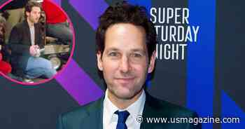 Paul Rudd Spotted During 'Friends' Reunion Filming the Finale With His Camcorder - Us Weekly