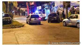 Choque triple en el centro de Monte Grande - El Diario Sur
