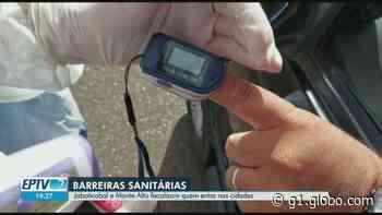 Jaboticabal e Monte Alto, SP, aplicam barreiras sanitárias para conter disseminação da Covid-19 - G1