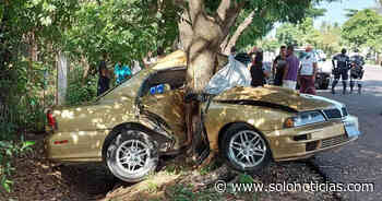 Un fallecido tras aparatoso accidente en carretera a Atiquizaya - Solo Noticias