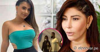 """Milena Zarate tras ver a su novio con Thamara: """"Lo que me incomoda es ver la reacción de él"""" - ElPopular.pe"""