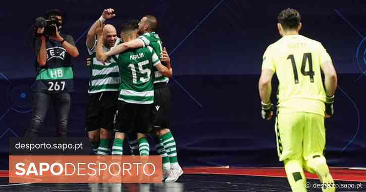 Sporting vence Leões de Porto Salvo e está na final do campeonato de futsal - SAPO Desporto