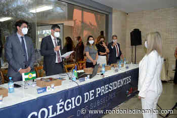 Colégio de Presidentes de Subseções é realizado de forma híbrida em Cacoal - Rondônia Dinâmica
