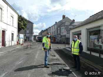 Blain : en plein déconfinement, ces travaux dans une rue marchande font grincer les commerçants - actu.fr