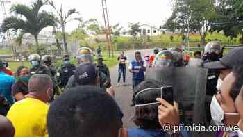 """En El Pao protestaron por """"chatarreros"""" detenidos este jueves - primicia.com.ve"""