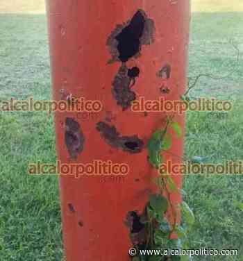 Advierten riesgo de que caiga un domo en Cerro Azul - alcalorpolitico