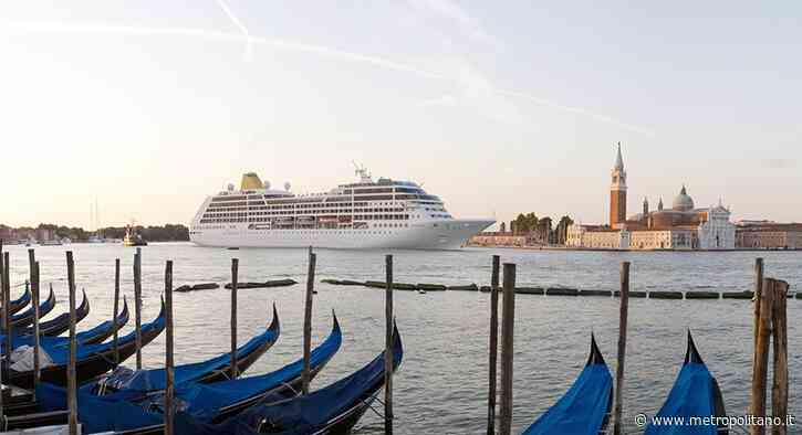 Venice Blue Flag 2021: emissioni crociere ridotte già a 15 miglia al largo - Metropolitano.it