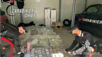 Francavilla al Mare, sorpreso con 100 chili di droga: arrestato 29enne originario di Bari - Telebari