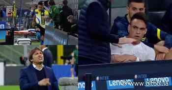 Escándalo en el Inter: Conte humilló a Lautaro Martinez y se insultaron cara a cara - Bitbol
