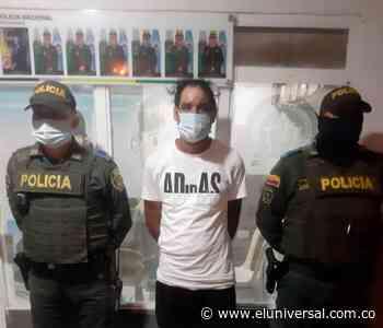 La Policía capturó en flagrancia a alias 'Moe', en Olaya Herrera - El Universal - Colombia