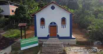 Fechada há 10 anos, capela de Cocais será reaberta neste domingo (30/5) - Estado de Minas