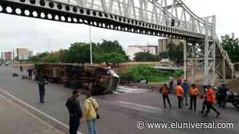 Accidentes de gandolas paraliza tráfico en Puerto La Cruz - El Universal (Venezuela)