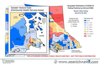 Leaked data shows View Royal top of COVID-19 list for Greater Victoria – Saanich News - Saanich News