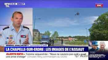 """Attaque à La Chapelle-sur-Erdre: pour le commandant du GIGN, l'opération """"est un succès car il n'y a pas eu d'autres victimes"""" - Actu Orange"""