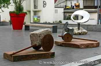 Ausstellung in Rutesheim: Kunst in Stein – und das mitten in der Stadt - Rutesheim - Leonberger Kreiszeitung