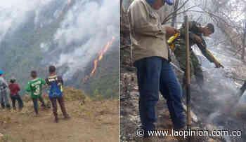 Villa Caro, rodeada de incendios, clama ayuda | Noticias de Norte de Santander, Colombia y el mundo - La Opinión Cúcuta