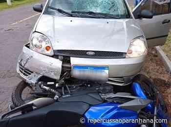 Condutor de motocicleta fica ferido após colisão em Igrejinha - Repercussão Paranhana