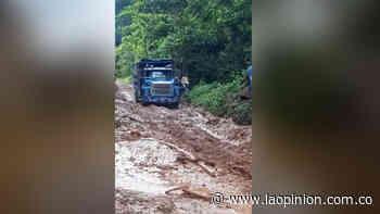 Lluvias agravan el estado de las vías en Sardinata | Noticias de Norte de Santander, Colombia y el mundo - La Opinión Cúcuta