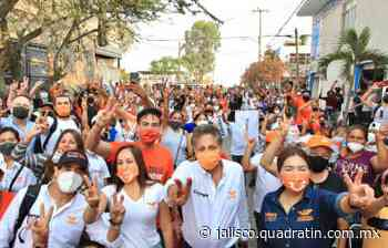 En la Mesa Colorada, Frangie presenta propuestas para apoyar a mujeres - Quadratín Jalisco