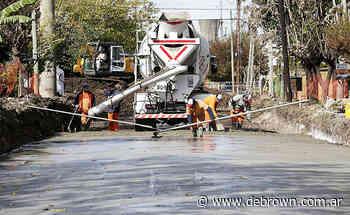 Avanzan obras de asfalto en Claypole, Don Orione y Burzaco - Noticias De Brown