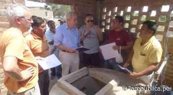 Extranjeros apoyarán en la construcción de tanque de agua potable en Picsi LRND - LaRepública.pe