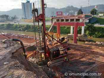 Prefeitura de Brusque divulga novo prazo para reconstrução da ponte Santos Dumont - O Munícipio