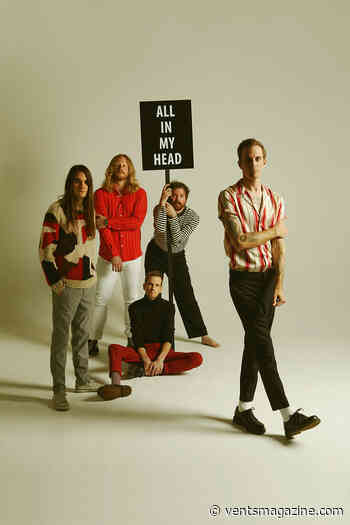 """ALTERNATIVE ROCK BAND, THE MAINE RELEASE """"LIPS"""", THIRD SINGLE FROM 8TH STUDIO ALBUM - - VENTS Magazine"""