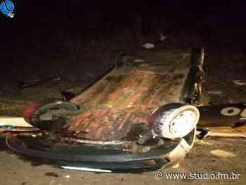 Veículo funerário de Lagoa Vermelha sofre acidente na BR 470 - Rádio Studio 87.7 FM | Studio TV | Veranópolis