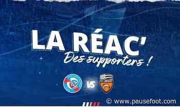 Racing-FC Lorient (1-1) : la réac' des supporters - Pause Foot