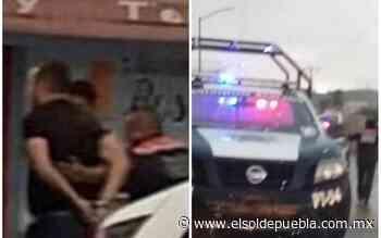 Detienen a dos presuntos secuestradores en inmediaciones de Lomas de Angelópolis - El Sol de Puebla