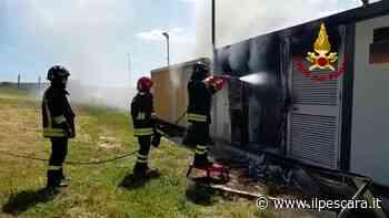 Incendio a Pianella, cabina di trasformazione di un impianto fotovoltaico distrutta dalle fiamme [FOTO-VIDEO] - IlPescara