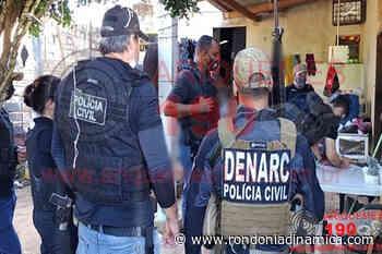PC faz operação em Ariquemes e Cacaulândia para combater venda de droga - Rondônia Dinâmica