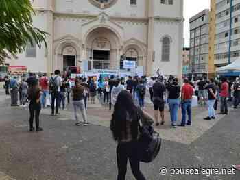 Fotos: Puxada por Sindicatos, manifestação contra Bolsonaro é realizada em Pouso Alegre - PousoAlegre.net