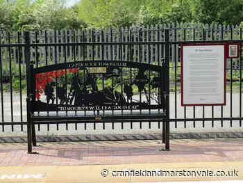 Captain Sir Tom Moore Bench unveiled at Millbrook Station - Cranfield and Marston Vale Chronicle