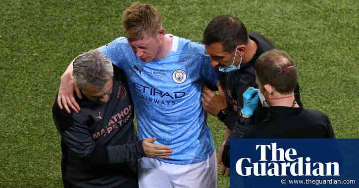 Kevin De Bruyne an injury doubt for Euro 2020 after suffering facial fractures