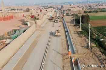 Lurigancho-Chosica: obras en avenida Las Torres tienen un 75.60 % de avance - Agencia Andina