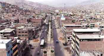 Municipalidad de Lima: obras en Av. Las Torres de Chosica tienen un avance de 75% - Diario Perú21