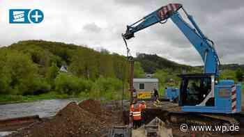 Finnentrop: Neue Brücke über der Lenne steht im Sommer - WP News