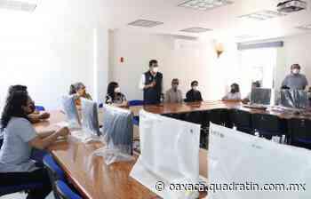 Entregó la UABJO equipos de cómputo a sedes de Tlaxiaco y Chahuites - Quadratín Oaxaca