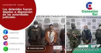 Captura en Ciudad Bolívar por hurto y en Salgar por porte de arma de fuego - ConexionSur